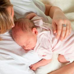 Valentina casi tiene 2 meses…Consejos de lactancia.