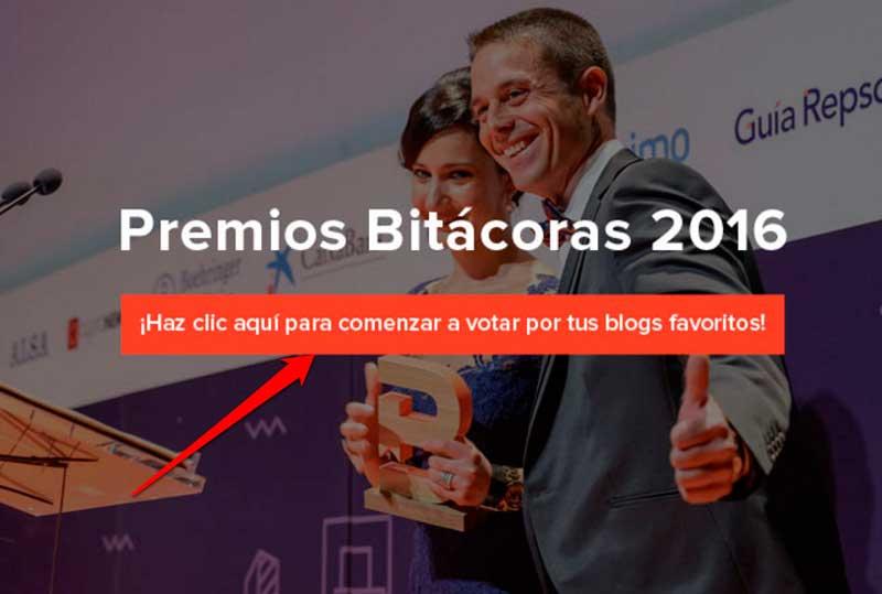votar premios bitacoras 2016 en la imagen