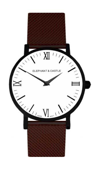 relojes intercambiables correa metalica en color negro