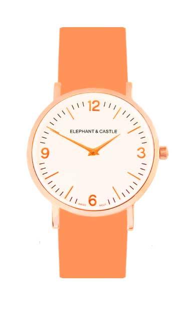 relojes intercambiables en correa de neon
