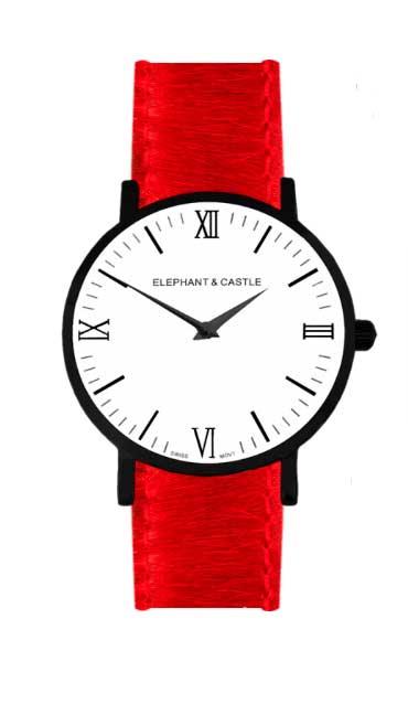 relojes intercambiables con una correa tipo safari