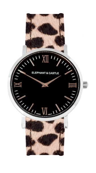 relojes intercambiables con correa tipo safari dalmata