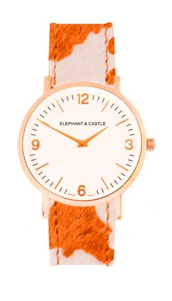 relojes intercambiables con coprrea tipo safari pero en otros tonos