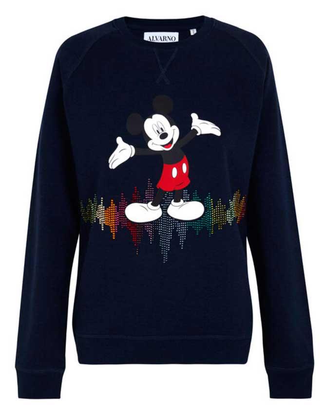 alvarno camiseta mickey mouse cristales