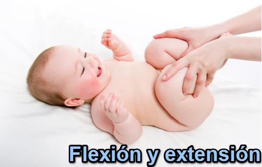 tercer paso del masaje infantil