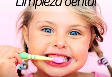 salud higiene dental niños
