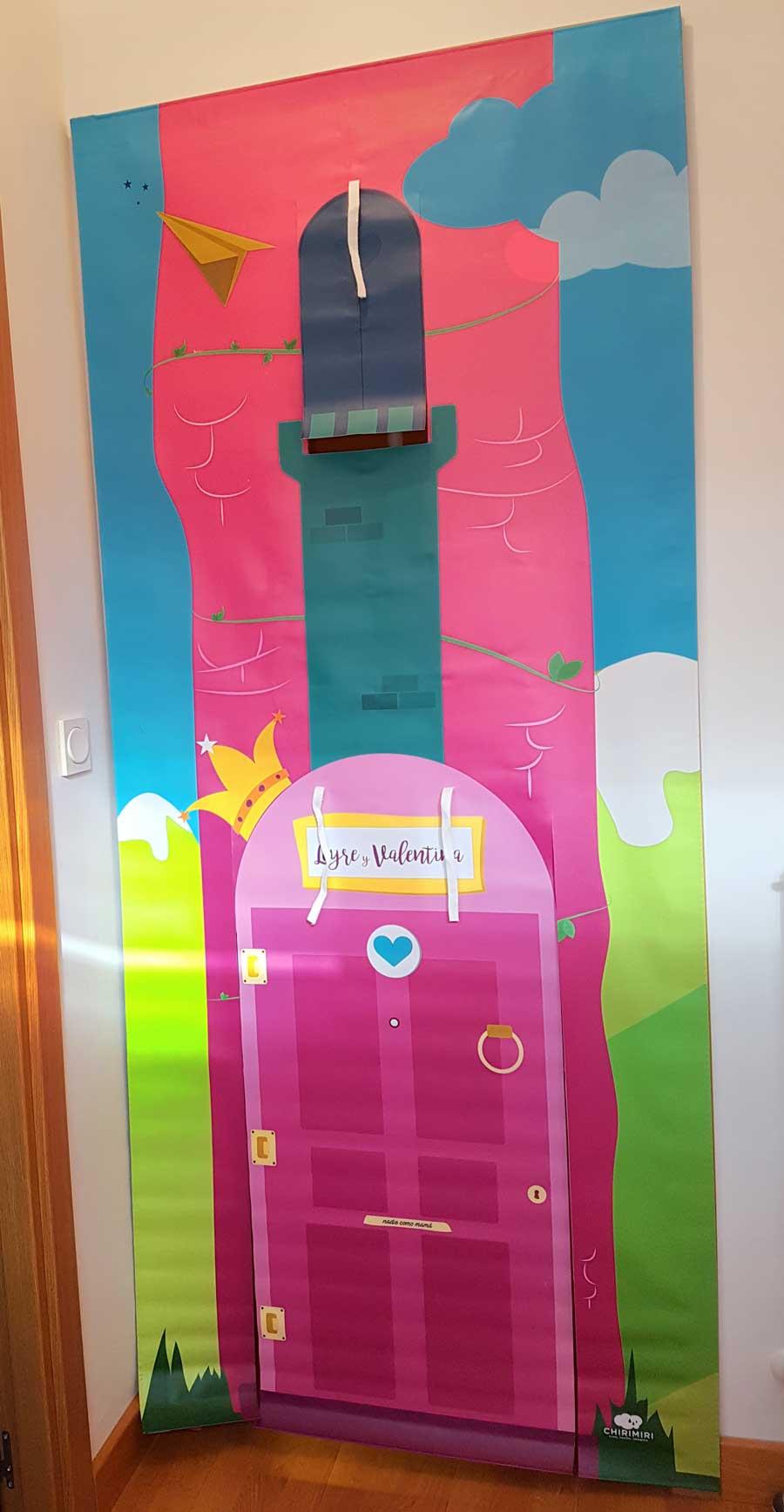 puerta de las niñas chirimiri kids