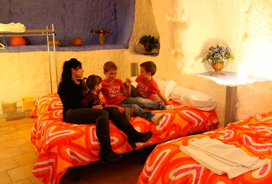 senda viva alojamiento reunión en familia