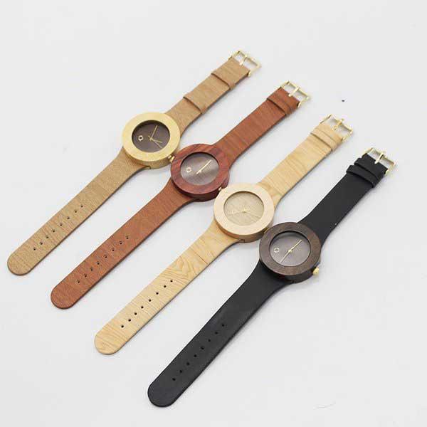 diferentes modelos reloj de madera seqoya