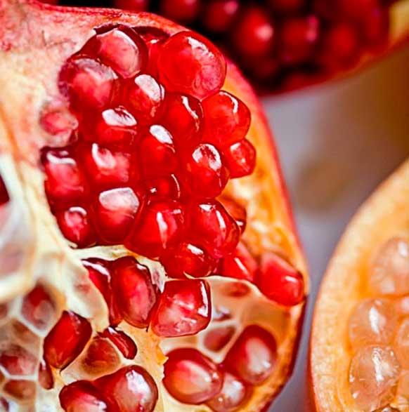 granada frutas producto weleda