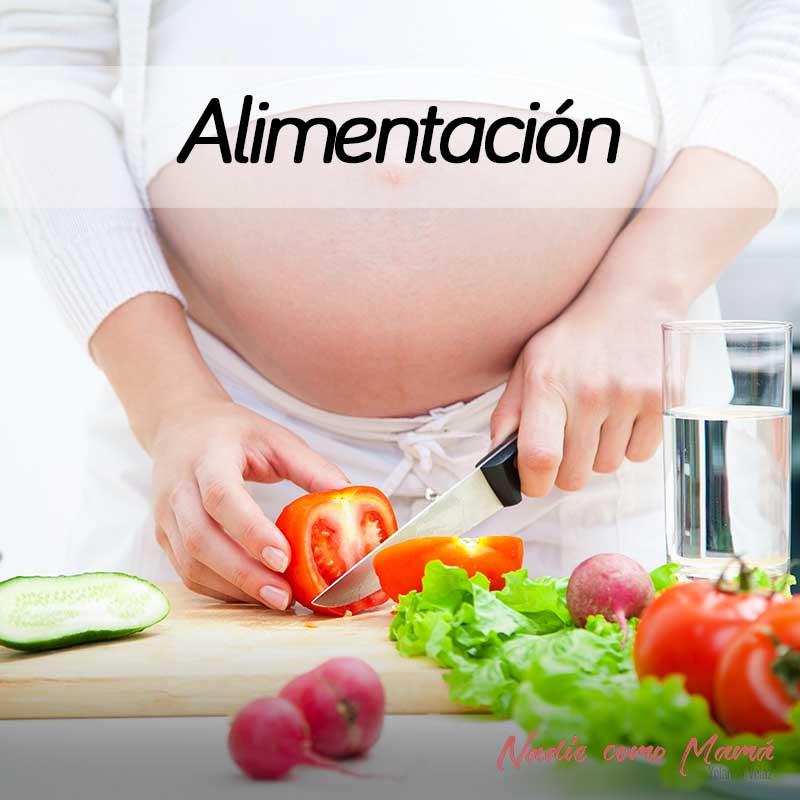 alimentacion embarazadas