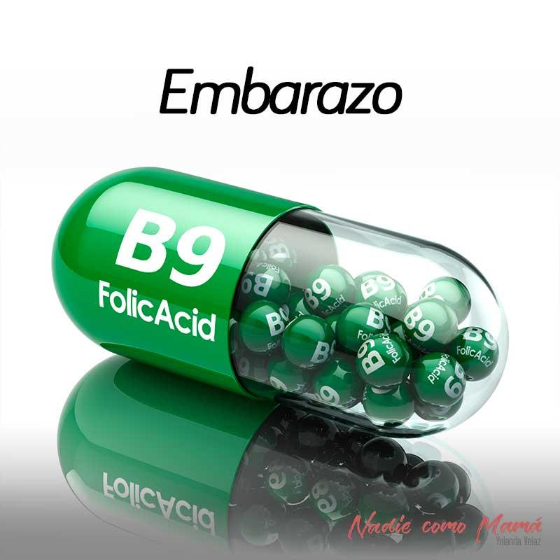acido folico vitaminas embarazadas