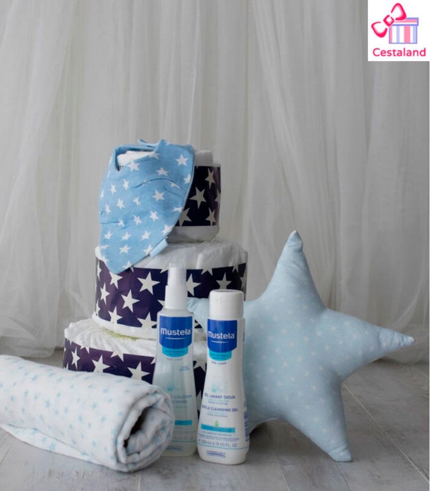tarta de pañales regalos para embarazadas
