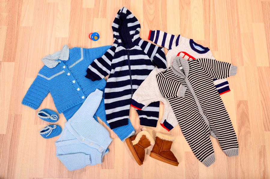 ropa como vestir a un recien nacido en invierno