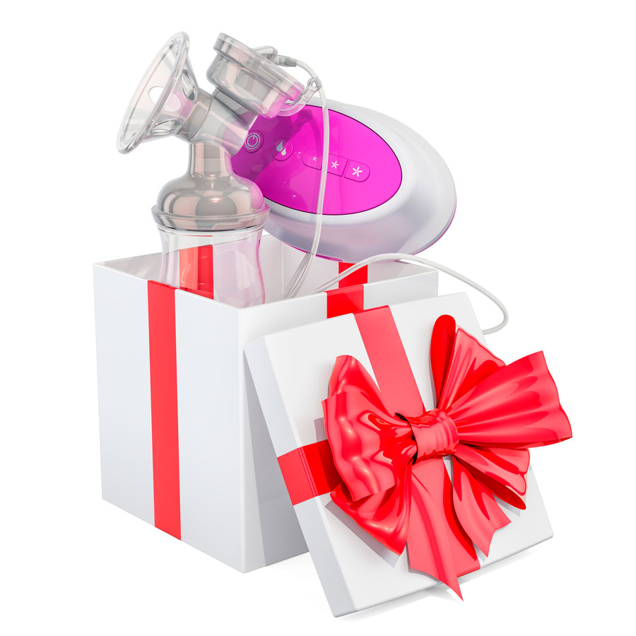 regalo de lactancia materna con sacaleches