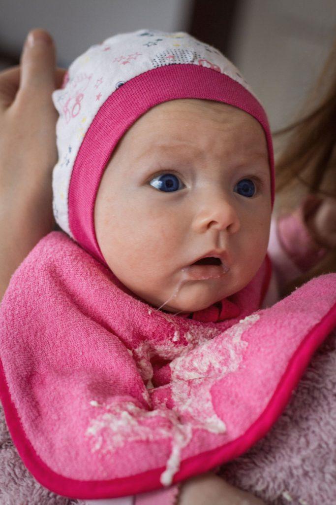 como evitar la regurgiracion en bebes
